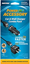 Rayovac PSUSB-2T6 Dual Car and Wall USB Universal Charger Combo Pack