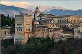 Poster 30 x 20 cm: Alhambra-Palast in Granada von Editors