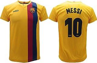 Ragazzo di Football # 10 Uniforme da Calcio per i Tifosi di Calcio Barcelone Messi LHWLX Maglia Calcio 2019 Tuta sportivaT-Shirt e Pantaloncini da Calcio Adulti e Bambini