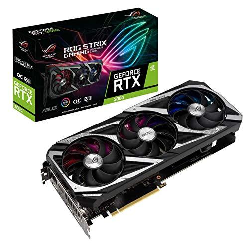 ASUS NVIDIA GeForceRTX 3060 搭載 12G ROG-STRIX-RTX3060-O12G-GAMING