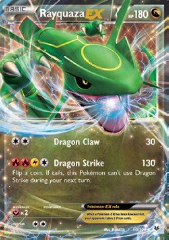 Pokémon -  quaza EX - 60 108 - Inglese - Roaring Skies