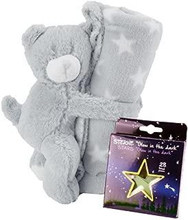 Kinder Premium Super Soft Flauschige Flauschige Pl/üsch Pelzigen Luckyx Decke Weichen Flanell Kuscheldecke Mit Leuchtenden Sternen Glow In The Dark Spa/ß F/ür M/ädchen Jungen