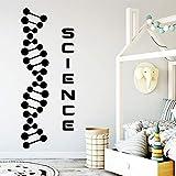 yaonuli Creative Science Vinilos Decorativos Adhesivos móviles Vinilos Decorativos para Habitaciones Vinilos Decorativos 45X117cm