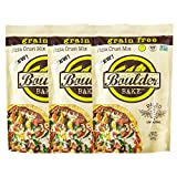 Boulder Bake Cauliflower Pizza Crust Mix (3 pack) Grain and Gluten Free, Vegan, Non GMO, and Low Carb