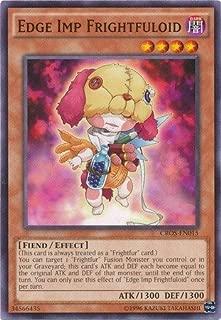 Yu-Gi-Oh! - Edge Imp Frightfuloid (CROS-EN015) - Crossed Souls - Unlimited Edition - Common