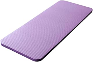 Yoga mat thick For All Types Yoga| Yoga Knee Pad 15Mm Yoga Mat Large Thick Pilates Exercise Fitness Pilates Workout Mat No...