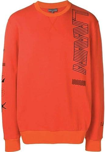 Lanvin Homme RMJE0043P1990 Orange Coton Sweatshirt