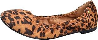 حذاء مسطح ناعم مسطح من سيسيبومي نسائي مريح بمقدمة مستديرة من الأمام حذاء راقصة الباليه كاجوال مسطح للنساء والفتيات