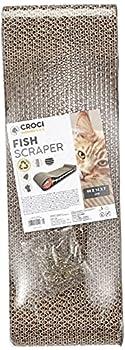 Croci Griffoir pour Chat Carton Fish avec Catnip 44 cm