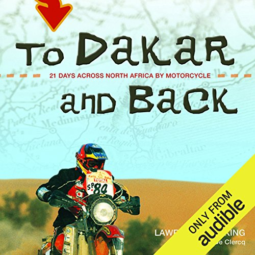 To Dakar and Back audiobook cover art