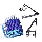 LIOOBO Poteau de Filet de Tennis de Table Ensemble léger Accessoire de Tennis de Table Standard approvisionnement en ping-Pong Rack de Rack pour extérieur