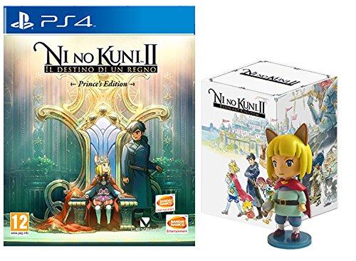 Ni No Kuni II: Il Destino di un Regno con Chibi Figurine - Prince's Limited Edition - PlayStation 4 [Importación italiana]