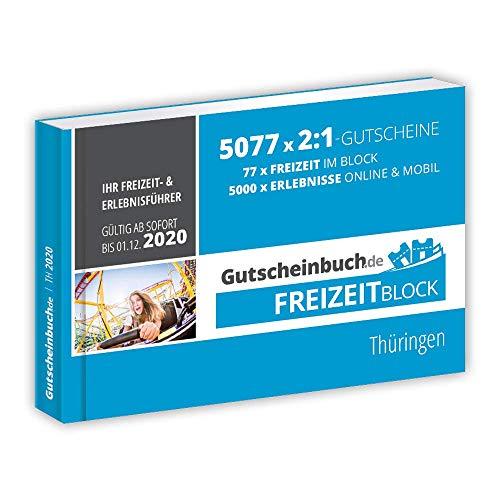 Gutscheinbuch.de Freizeitblock Thüringen 2019/20