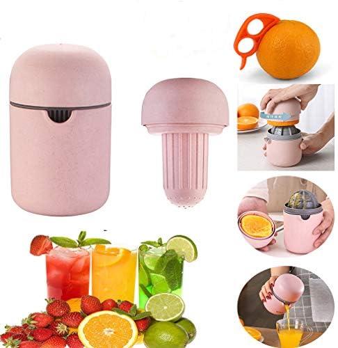 Kiwini Portable Manual Juicers Lovely Hand Juicer Citrus Orange Squeezer Manual Lid Rotation product image