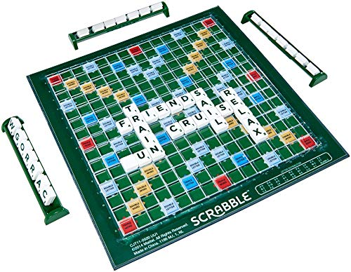 SCRABBLE CJT11 Travel Board Game, One Colour
