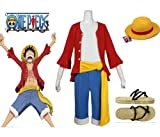 One Piece Monkey D. Luffy Cosplay Costume - 2 ans plus tard Monkey D. Luffy Costume...