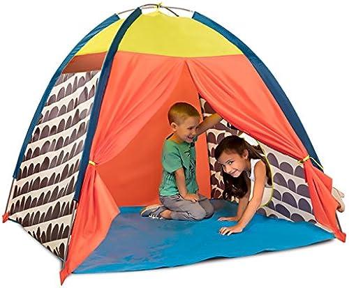 LIAN Kinderspielzelte Happy Game House Zimmer Innen Outdoor-Aktivit n Faltbare (Orange 50,0  50,0  44,0 Zoll Verpackung von 1)