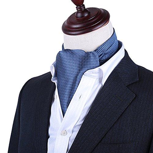 PENGFEI Krawattenschal Männer Gentleman Formelle Kleidung Hemd Ausschnitt Handtuch Frühling Und Herbst Winter Stickerei Geschäft Wild Mode 11 Farben 1 / 2Stück Wahlweise, 15x128CM