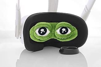 BMTick UK - Copriobiettivo per cuffie Oculus Quest 2 VR (con panno di pulizia)