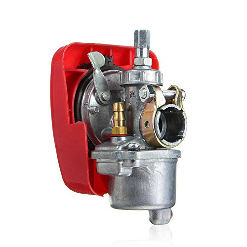 BH-Motor New Bike Engine Red Carburetor for 2 Stroke 49cc 50cc 60cc 66cc 80cc Bicycle Motorized Engine Kit