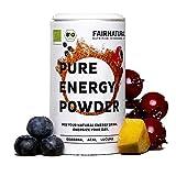 BIO Energy-Drink Pulver 2.0 mit Guarana & Acai und vielen weiteren Superfoods [Bio Booster aus Deutschland] - Gesunde & vegane Alternative zu Energydrinks & Kaffee aus Superfoods (100g)