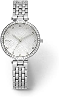 ZYROS Wristwatch for Women, Metal, ZAA075L111111