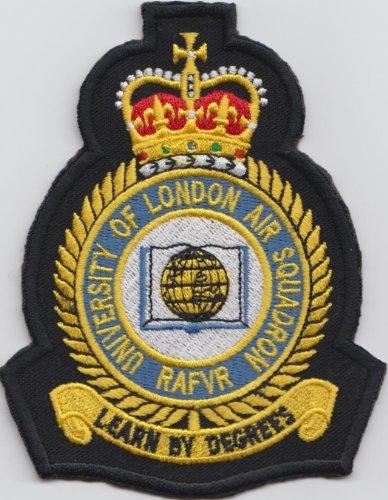 mod APPROUVÉ - FORCE AÉRIENNE ROYALE DE RAF Université de londre Air Escadron brodéécusson badge patch