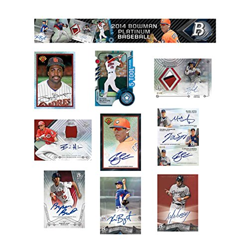 Bowman 2014 Platinum Baseball Hobby Box MLB