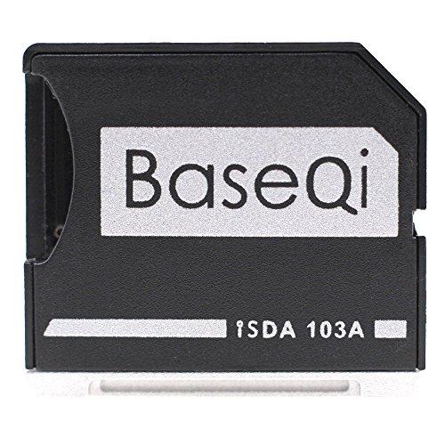 BASEQI Aluminum microSD Adapter for MacBook Air 13' and MacBook Pro 13'/15' (Non-Retina)