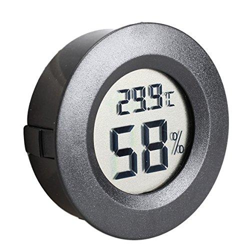 EgBert Mini LCD Celsius Digitale Thermometer Feuchtigkeit Meter Gefrierschrank Tester Temperatur Feuchtigkeit Meter Detect
