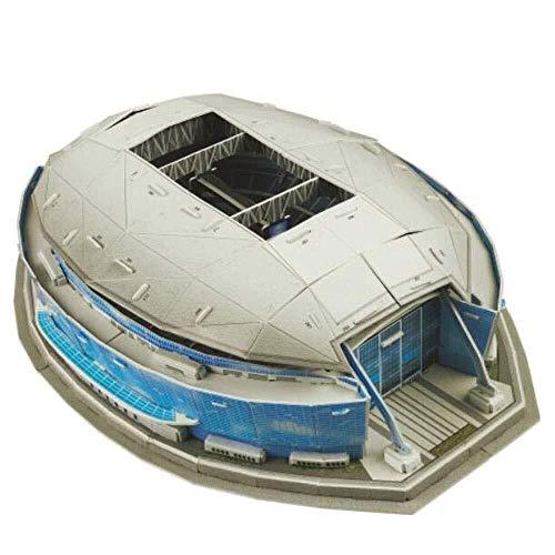 NFL Dallas Cowboys Football Team Home Cowboys Stadium 3D Puzzle Model, Rugby-Fan-Souvenir DIY Puzzle Lernspielzeug, Geburtstag, Weihnachten Geschenke for Kinder Erwachsene, 17'x 12' x 5'