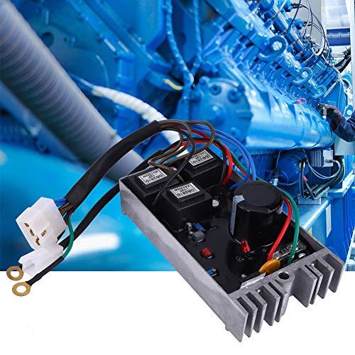 Generador ajustable trifásico Accesorios para grupos electrógenos KI-DAVR 150S3 Regulador de voltaje del generador automático Estable Buen rendimiento para generador trifásico de 15KW