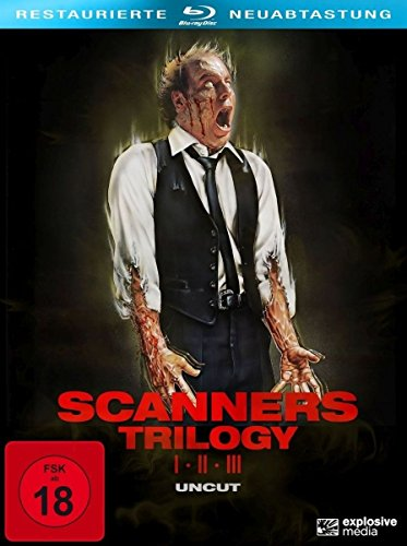 Scanners 1-3 (3-Disc Collector\'s Set) (Blu-ray uncut)