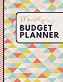 Monthly Budget Planner: A 12 Month Personal Finance Planner Organizer for Debt Free Money Management