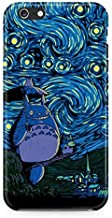 My Neighbor Totoro Van Gogh Painting Hard Plastic Snap-On Case Cover For iPhone 6 Plus / iPhone 6s Plus