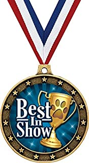 Best in Show Gold Medals - 2 1/2