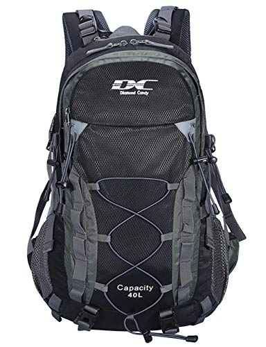 Diamond Candy Waterproof Hiking Backpack for Men...