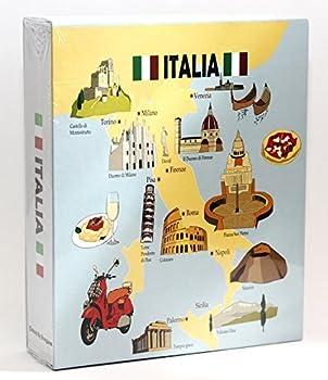 Italy Embossed Photo Album 200 Photos / 4x6 NEW