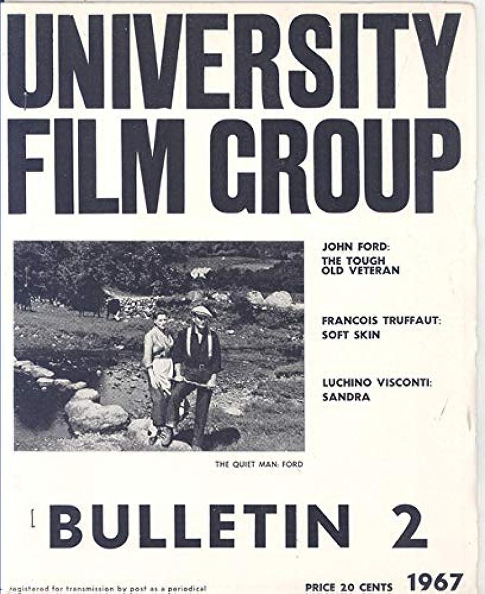 University Film Group Bulletin #2 Melbourne, Australia 1967 (The Quiet Man on Cover)