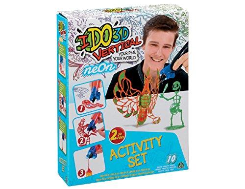 ido3d Cool Create Vertikal Get Neon Activity-Set