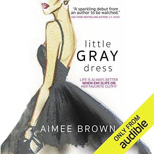 Little Gray Dress audiobook cover art