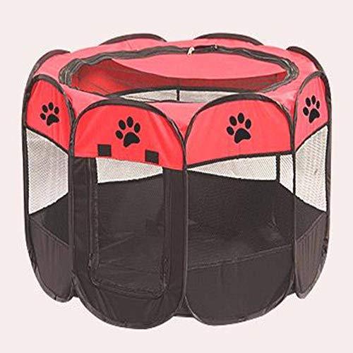 None/Brand Cercas portátiles al aire libre para mascotas tiendas de campaña para perros pequeños y grandes parque infantil plegable interior jaula perro cajón de entrega