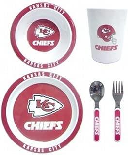Kansas City Chiefs Children's Dinner Set