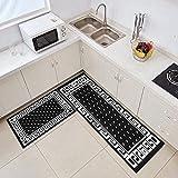 NTtie Alfombras Ultra Suaves para Interiores, Impresión Simple para el hogar Adecuada para Dormitorio, Cocina y baño.