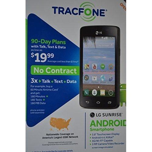 eb457e2f7c3 Amazon.com  Tracfone LG Sunrise L15G  Cell Phones   Accessories