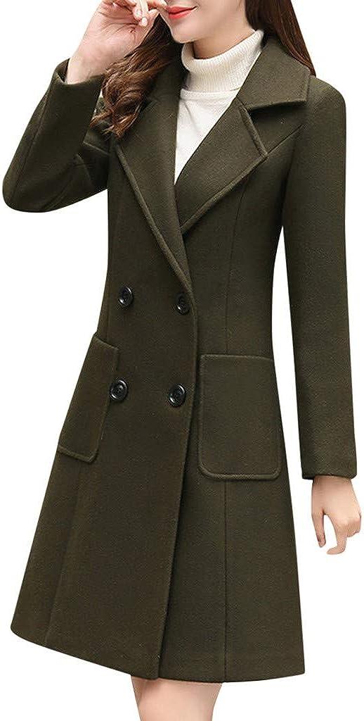 Women Winter Coat F_Gotal Popular standard Choice Breaste Double Women's Elegant