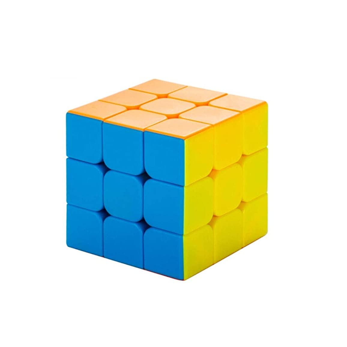 すべきバッジ事件、出来事Qiyuezhuangshi ルービックキューブ、ゲーム用ピュアソリッドカラーキューブ、知能開発のための良い選択(3次/ 4次) ファッション (Edition : Third-order)