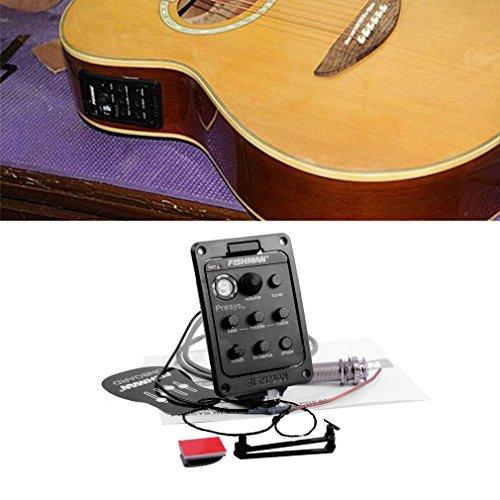 Fishman Onboard Preamp Folk Guitar Pickup - Accesorio para instrumentos musicales
