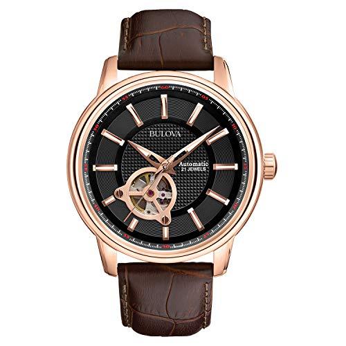 Best Mechanical Watches Under 500 - Bulova Men's 97A109 Mechanical Watch