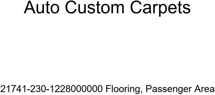 Auto Bargain sale Custom Carpets Max 64% OFF 21741-230-1228000000 Flooring Passenger Are